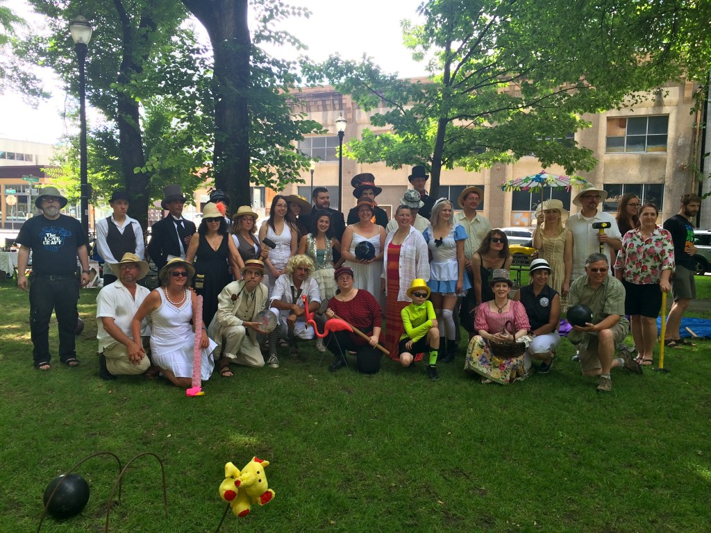 2014 Mondo Croquet group photo